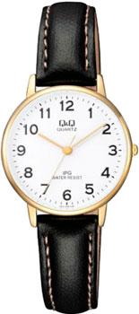Японские наручные  женские часы Q&Q QZ01J104. Коллекция Standard
