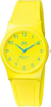 Японские наручные  женские часы Q&Q VP34J063. Коллекция Кварцевые