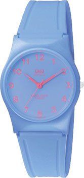 Японские наручные  женские часы Q&Q VP34J064. Коллекция Кварцевые