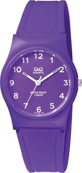 Японские наручные  женские часы Q&Q VP34J068. Коллекция Кварцевые