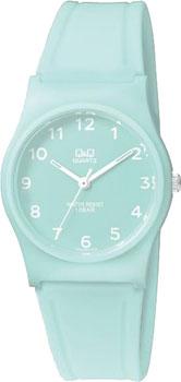 Японские наручные  женские часы Q&Q VP34J070. Коллекция Кварцевые