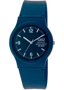 Японские наручные  женские часы Q&Q VP46J015. Коллекция Sports