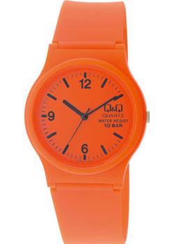 Японские наручные  женские часы Q&Q VP46J017. Коллекция Sports