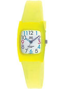 Японские наручные  женские часы Q&Q VP65J017. Коллекция Kids