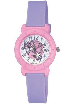 Японские наручные  женские часы Q&Q VP81J002. Коллекция Kids
