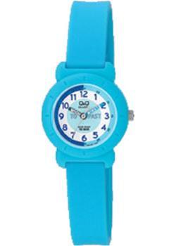 Японские наручные  женские часы Q&Q VP81J011. Коллекция Kids