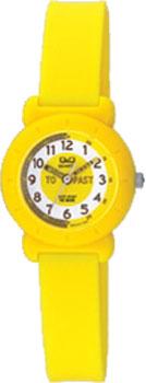 Японские наручные  женские часы Q&Q VP81J012. Коллекция Kids