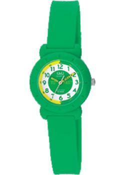 Японские наручные  женские часы Q&Q VP81J013. Коллекция Kids