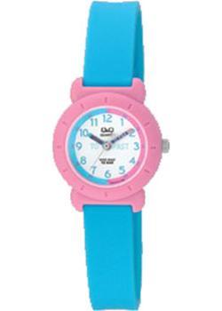 Японские наручные  женские часы Q&Q VP81J016. Коллекция Kids