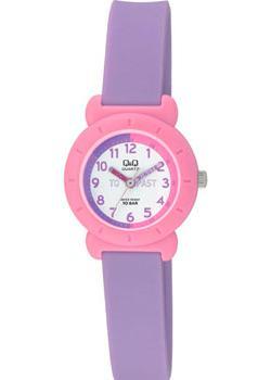 Японские наручные  женские часы Q&Q VP81J017. Коллекция Sports