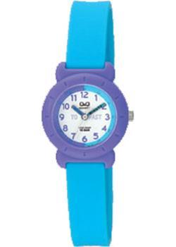 Японские наручные  женские часы Q&Q VP81J018. Коллекция Kids