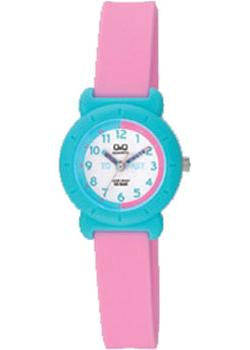 Японские наручные  женские часы Q&Q VP81J019. Коллекция Kids