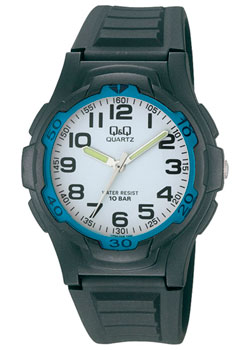 Японские наручные  мужские часы Q&Q VP84J008. Коллекция Sports