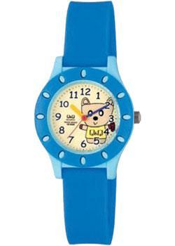 Японские наручные  женские часы Q&Q VQ13J003. Коллекция Kids