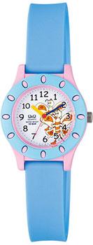 Японские наручные  женские часы Q&Q VQ13J006. Коллекция Kids