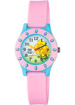 Японские наручные  мужские часы Q&Q VQ13J007. Коллекция Kids