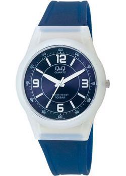 Японские наручные  женские часы Q&Q VQ50J007. Коллекция Sports