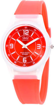 Японские наручные  женские часы Q&Q VQ50J009. Коллекция Sports