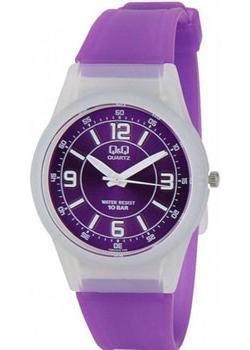 Японские наручные  женские часы Q&Q VQ50J012. Коллекция Sports