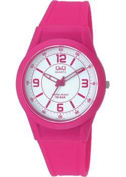 Японские наручные  женские часы Q&Q VQ50J015. Коллекция Casual