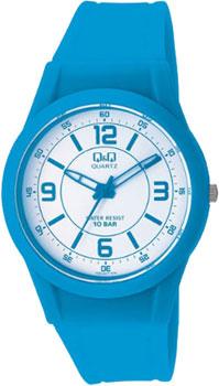 Японские наручные  женские часы Q&Q VQ50J019. Коллекция Casual