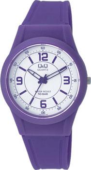 Японские наручные  женские часы Q&Q VQ50J020. Коллекция Casual