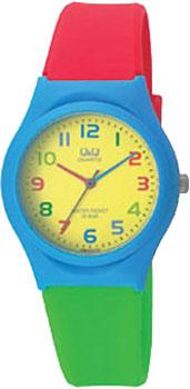 Японские наручные  мужские часы QQ VQ86J010. Коллекция Kids.