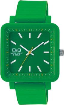Японские наручные  женские часы Q&Q VQ92J007. Коллекция Sports