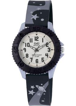 Японские наручные  женские часы Q&Q VQ96J013. Коллекция Kids