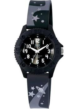 Японские наручные  женские часы Q&Q VQ96J014. Коллекция Kids