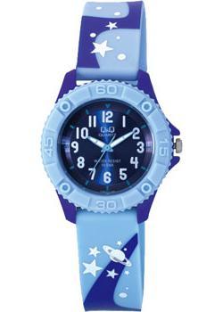 Японские наручные  женские часы Q&Q VQ96J015. Коллекция Kids