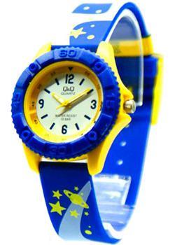 Японские наручные  мужские часы Q&Q VQ96J018. Коллекция Kids