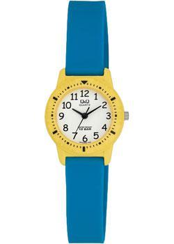 Японские наручные  женские часы Q&Q VR15J002. Коллекция Kids