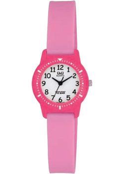 Японские наручные  женские часы Q&Q VR15J007. Коллекция Kids