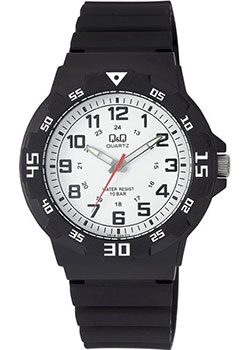 Японские наручные  мужские часы Q&Q VR18J003. Коллекция Sports