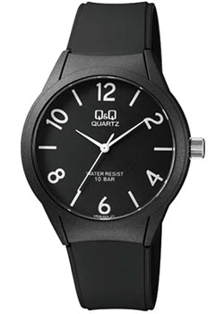 Японские наручные  мужские часы Q&Q VR28J024. Коллекция Кварцевые