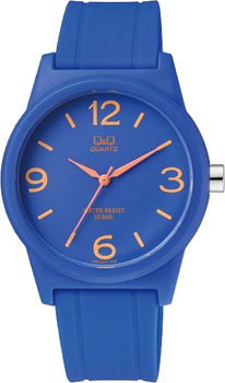 Японские наручные  мужские часы Q&Q VR35J014. Коллекция Sports