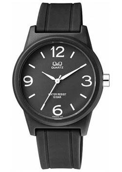 Японские наручные  мужские часы Q&Q VR35J019. Коллекция Кварцевые