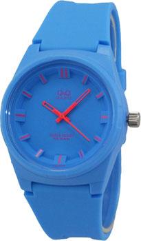 Японские наручные  женские часы Q&Q VR48J008. Коллекция Sports