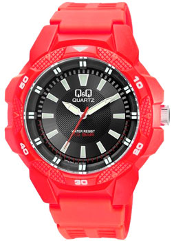 Японские наручные  мужские часы Q&Q VR54J003. Коллекция Sports