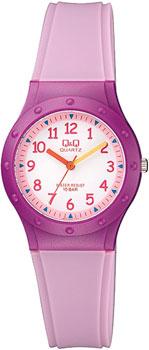 Японские наручные  мужские часы Q&Q VR75J005. Коллекция Kids
