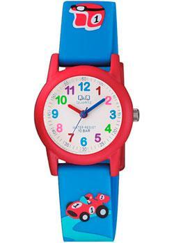 Японские наручные  мужские часы Q&Q VR99J004. Коллекция Kids