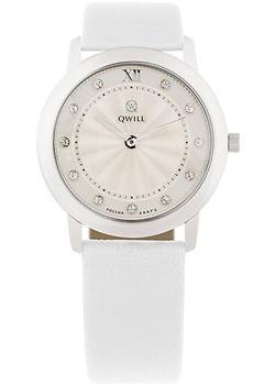 Российские наручные  женские часы Qwill 6050.01.04.9.26A. Коллекция Classic