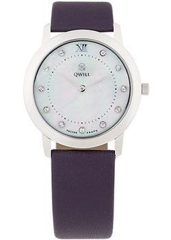 Российские наручные  женские часы Qwill 6050.01.04.9.36A. Коллекция Classic