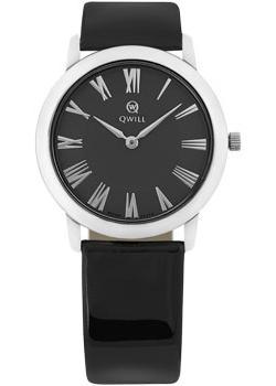 Российские наручные  женские часы Qwill 6050.01.04.9.51C. Коллекция Classic