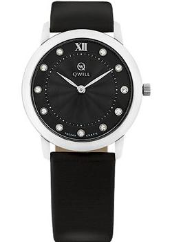 Российские наручные  женские часы Qwill 6050.01.04.9.56A. Коллекция Classic