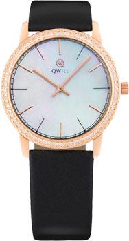 Российские наручные  женские часы Qwill 6050.05.11.1.35A. Коллекция Classic