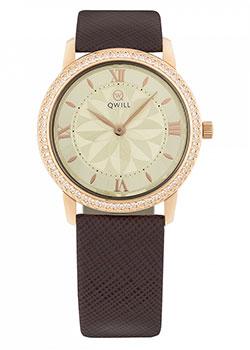 Российские наручные  женские часы Qwill 6050.05.11.1.41C.01. Коллекция Classic