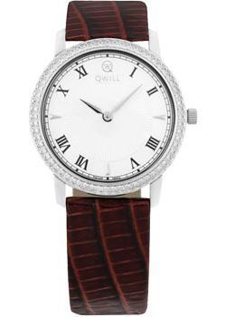 Российские наручные  женские часы Qwill 6050.05.14.9.11A. Коллекция Classic