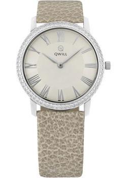Российские наручные  женские часы Qwill 6050.05.14.9.21A. Коллекция Classic